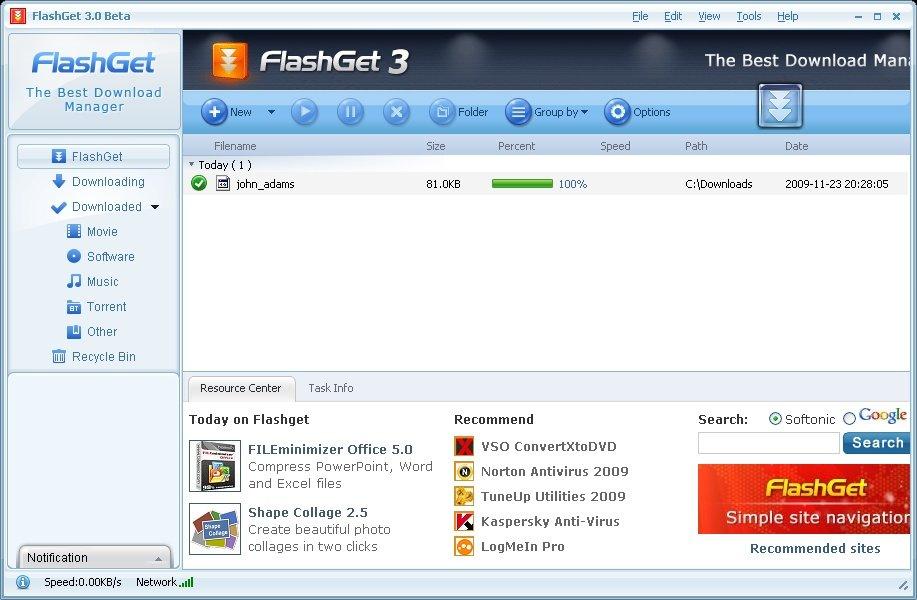 Flashget 3. 7. 0. 1220 free download videohelp.