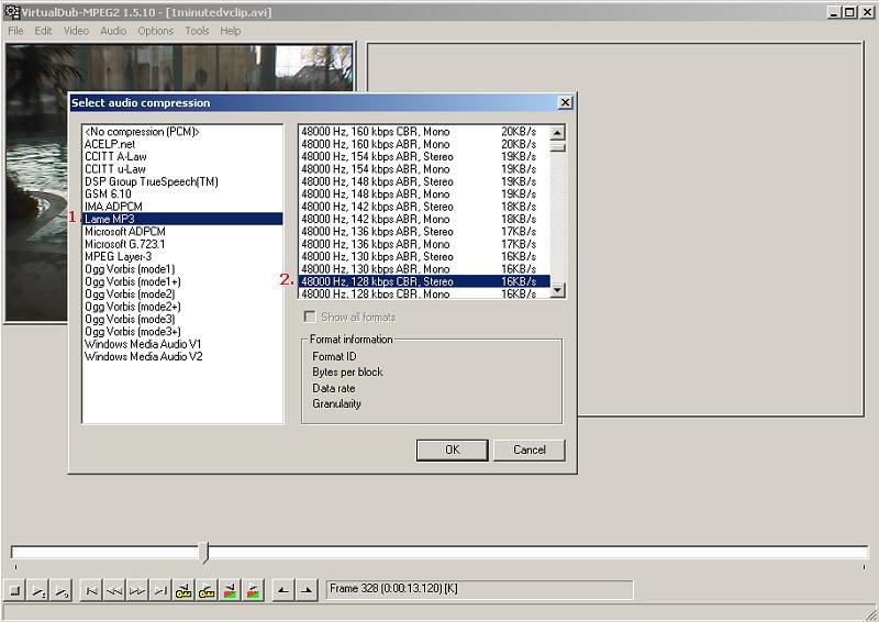 codec per virtualdub