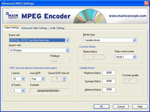 Mainconcept Mpeg Encoder - фото 5