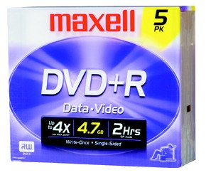 DVD Media and Blu-ray Disc Media list- VideoHelp