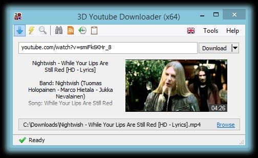 3D Youtube Downloader 1.16.5 Download - VideoHelp