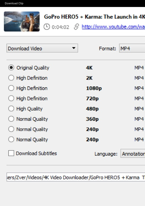 4K Video Downloader Old Versions Downloads - VideoHelp