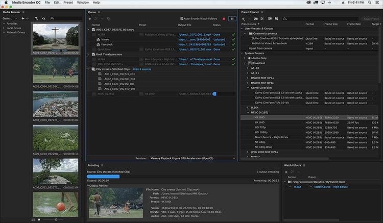 Adobe Media Encoder 13 1 Free Download Videohelp