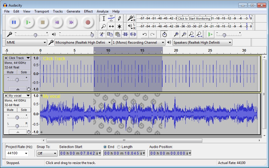 lame mp3 audacity 2.0.2