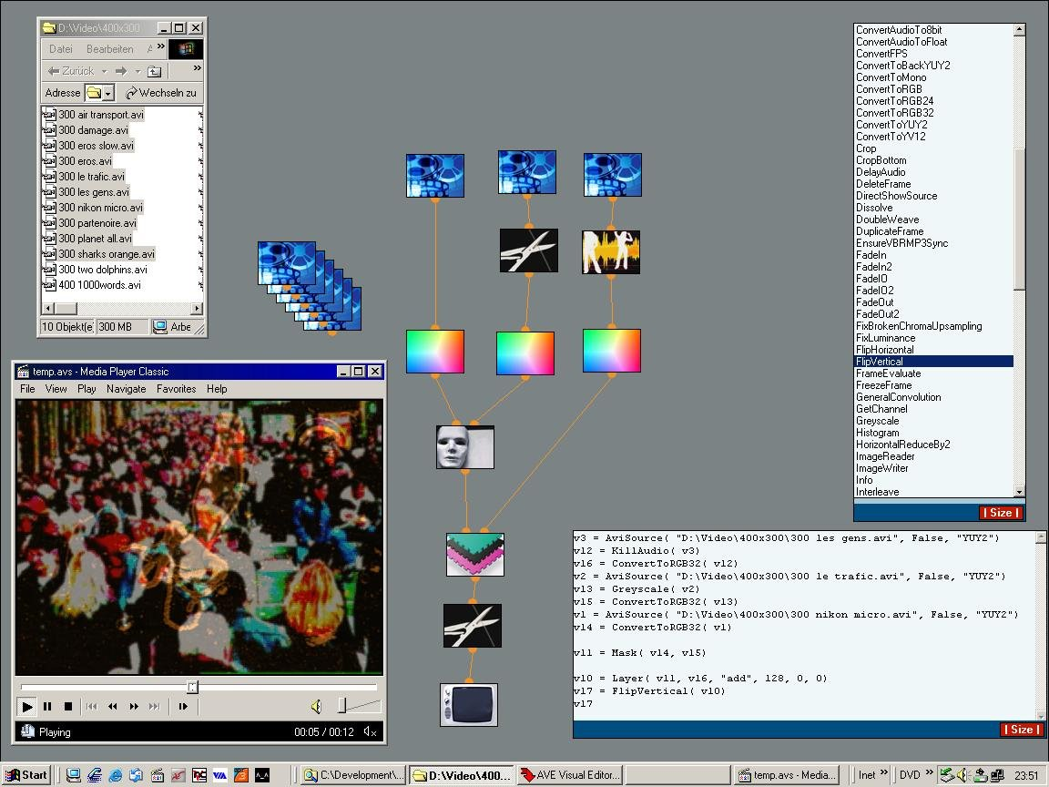 AVE Visual Editor 0 3 3 Free Download - VideoHelp