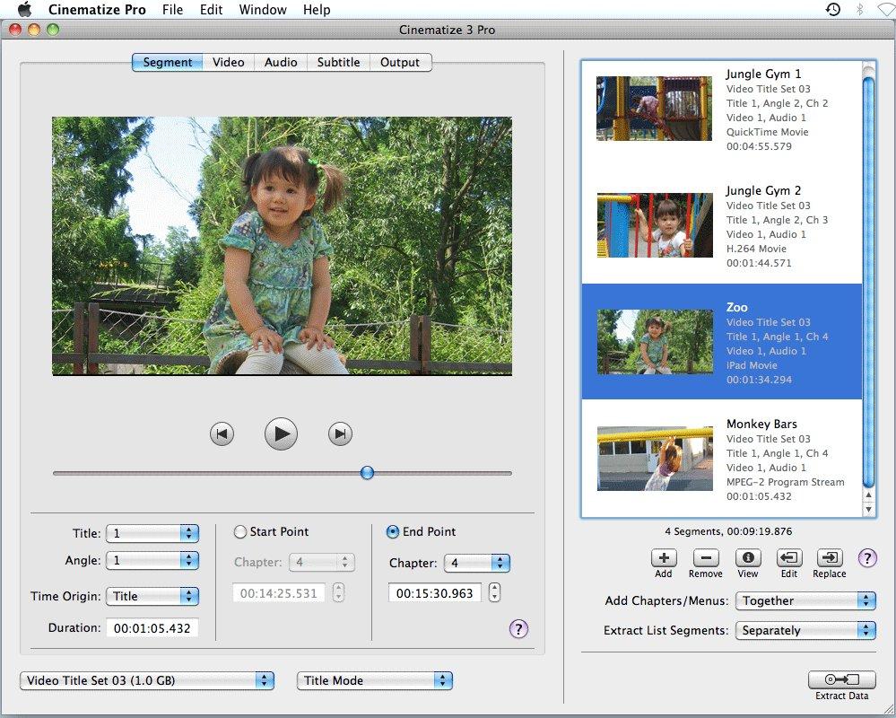 Miraizon introduces cinematize 2 pro for macintosh, the ultimate.