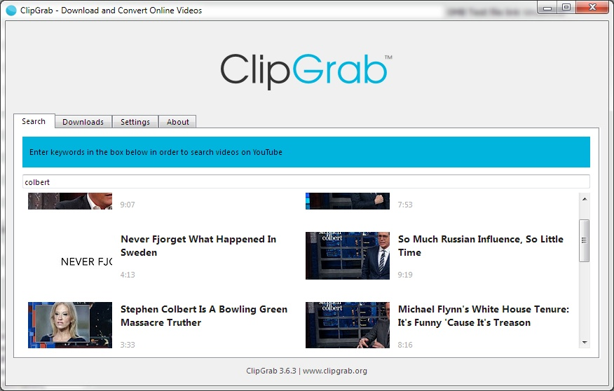 Clipgrab For Windows