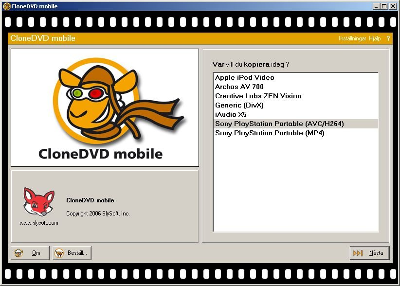 CloneDVD mobile 1 9 5 0 Free Download - VideoHelp