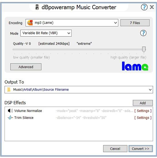 dBpowerAMP Version History - VideoHelp