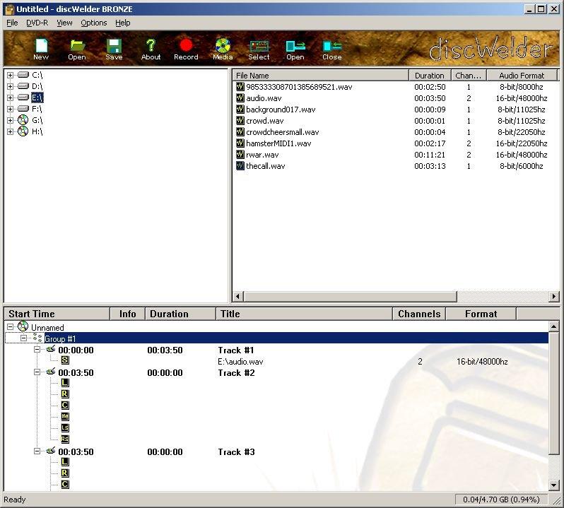 Programa para crear DVD-Audio Discwelder_465