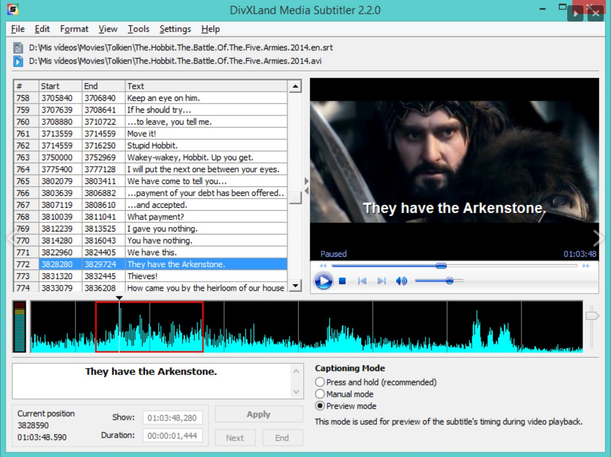 softni subtitler suite