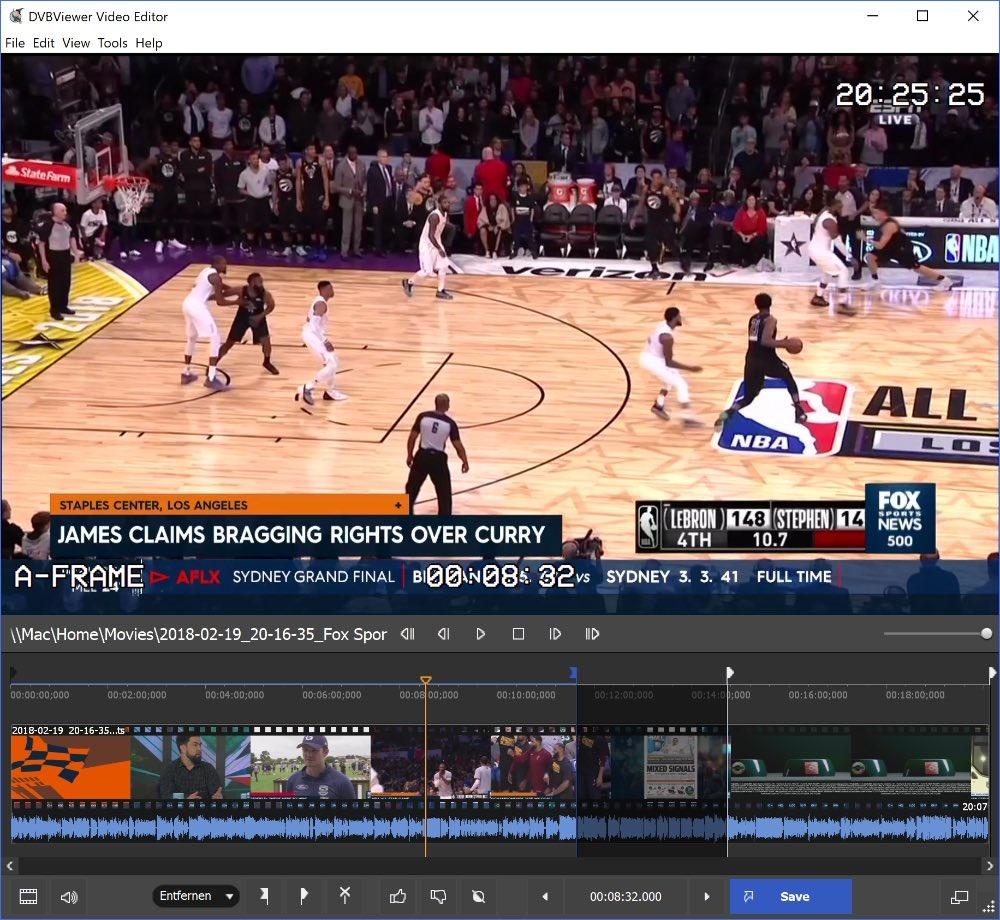 Resultado de imagen de DVBViewer Video Editor