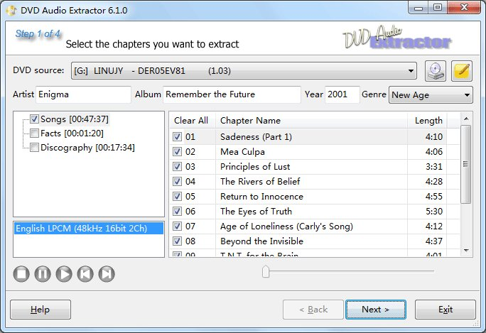 Pazera free audio extractor audio converter and extractor of.