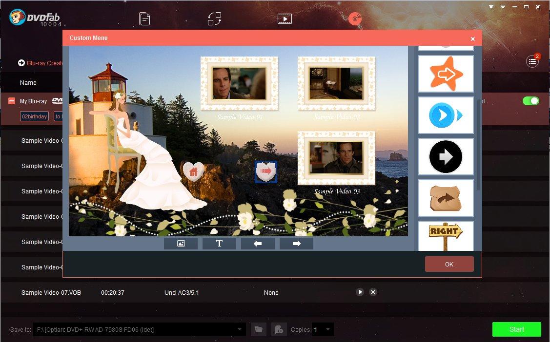 DVDFab Blu-ray Creator 11 0 4 8 Free Download - VideoHelp