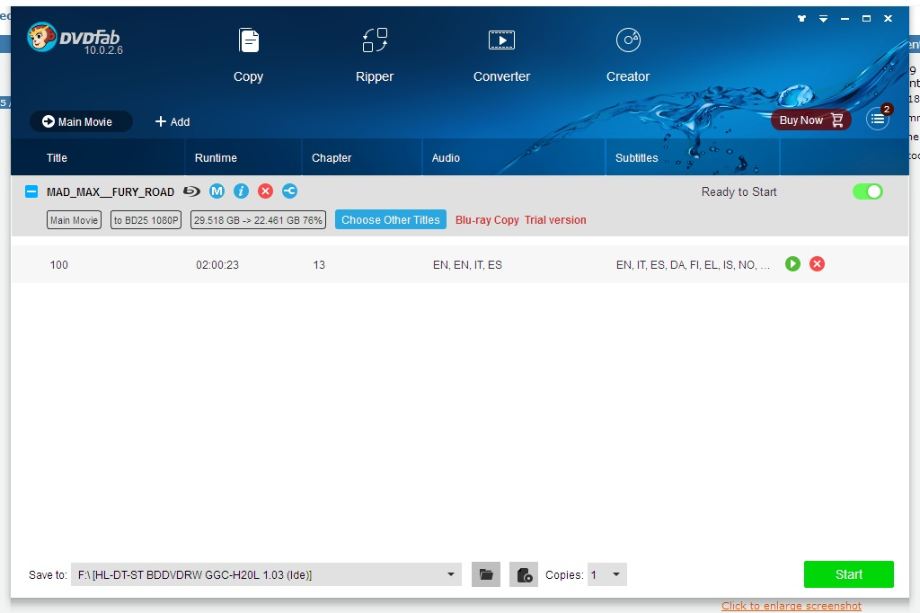 DVDFab HD Decrypter for Mac OS X 8.2.2.5 full