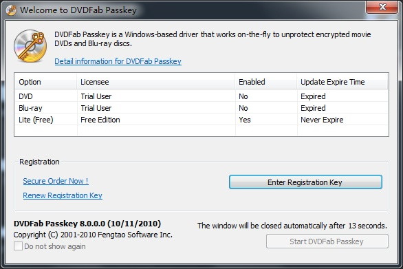 Dvdfab passkey 9 3 0 8 download videohelp for What can you do with old keys