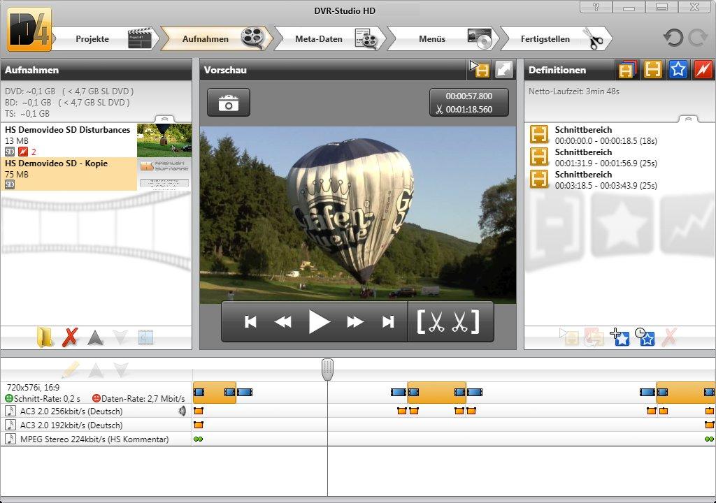 DVR-Studio UHD 1 11 / HD 4 19 Free Download - VideoHelp