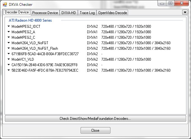 DXVA Checker Old Versions Downloads - VideoHelp