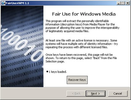 fairuse4wm windows 7
