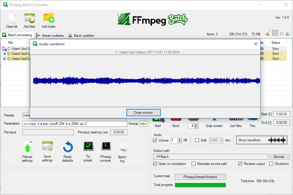 ffmpeg  linux