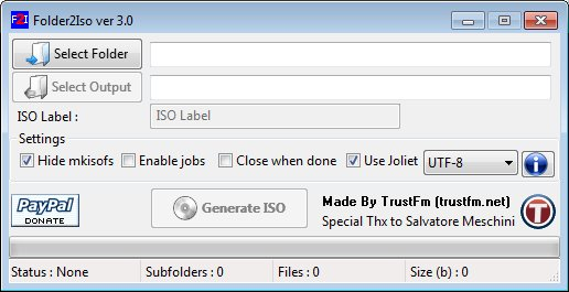 Folder2Iso 3 1 Free Download - VideoHelp
