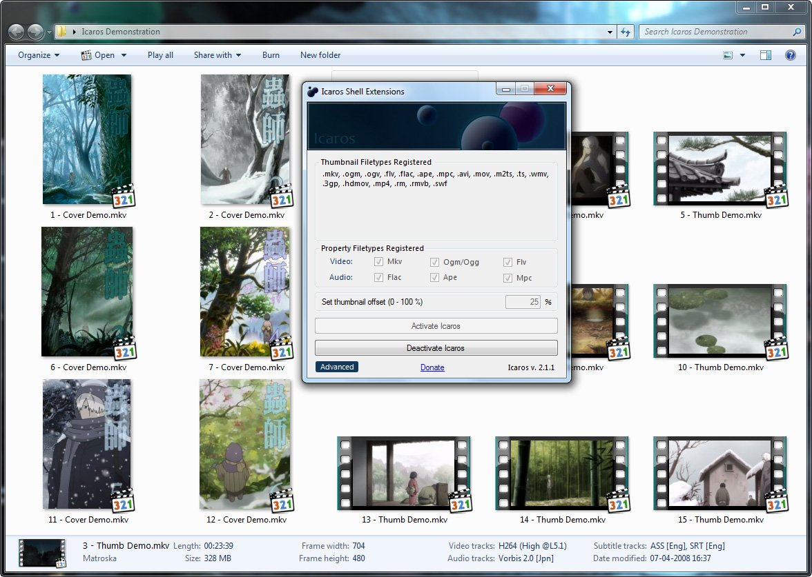 windows 7 how to change video thumbnail