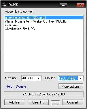 iPodME 2 4 Free Download - VideoHelp