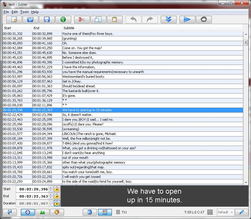 Jubler 6 0 2 Free Download - VideoHelp