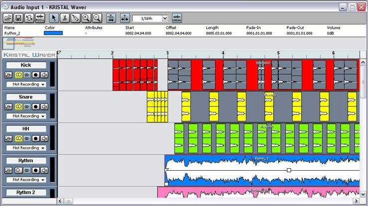 kristal recording software