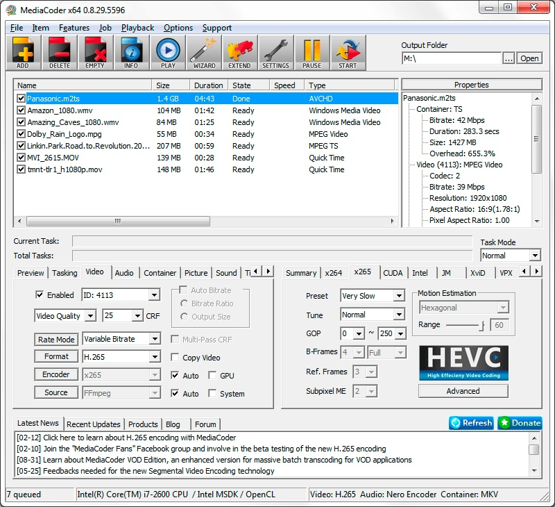 MediaCoder Version History - VideoHelp