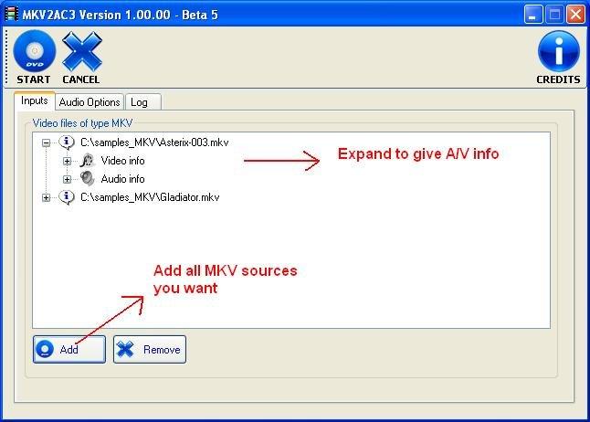 MKV2AC3 x64 screenshot