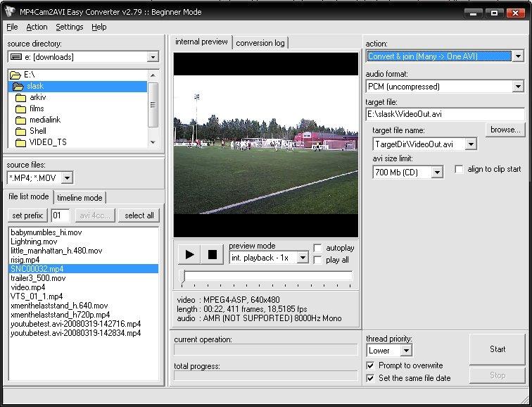 Mp4cam2avi скачать бесплатно русская версия