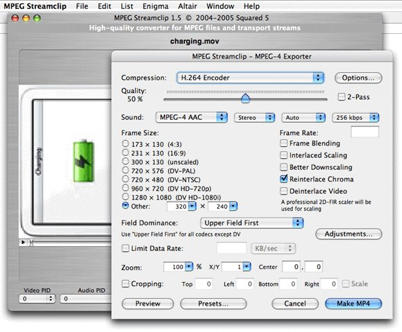 MPEG StreamClip 1 2 / 1 2 1 Beta 6 Free Download - VideoHelp