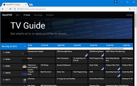 NextPVR 4 2 4 / 5 0 Beta Free Download - VideoHelp