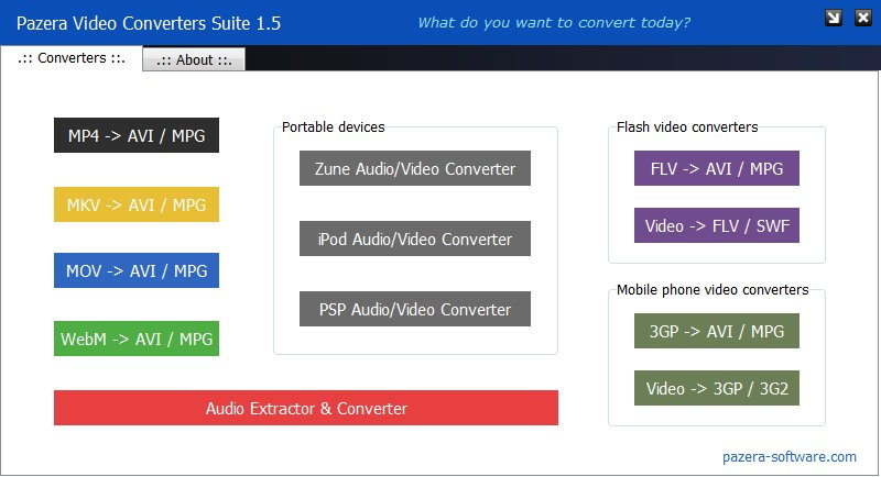 VIDEO CONVERTER SUITE BAIXAR PAZERA