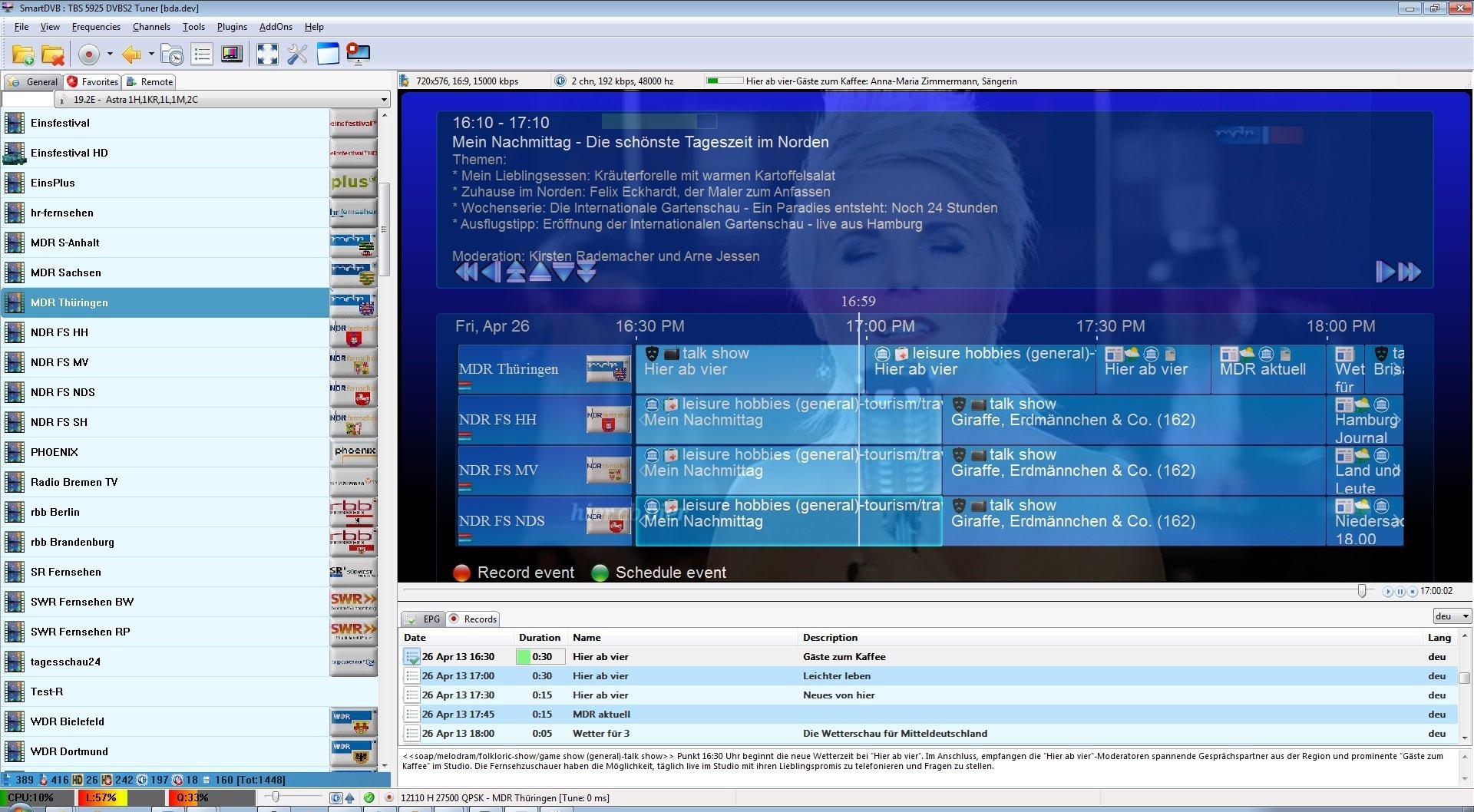 SmartDVB 0 5 1 38 / 0 5 1 1 Beta 1 Free Download - VideoHelp