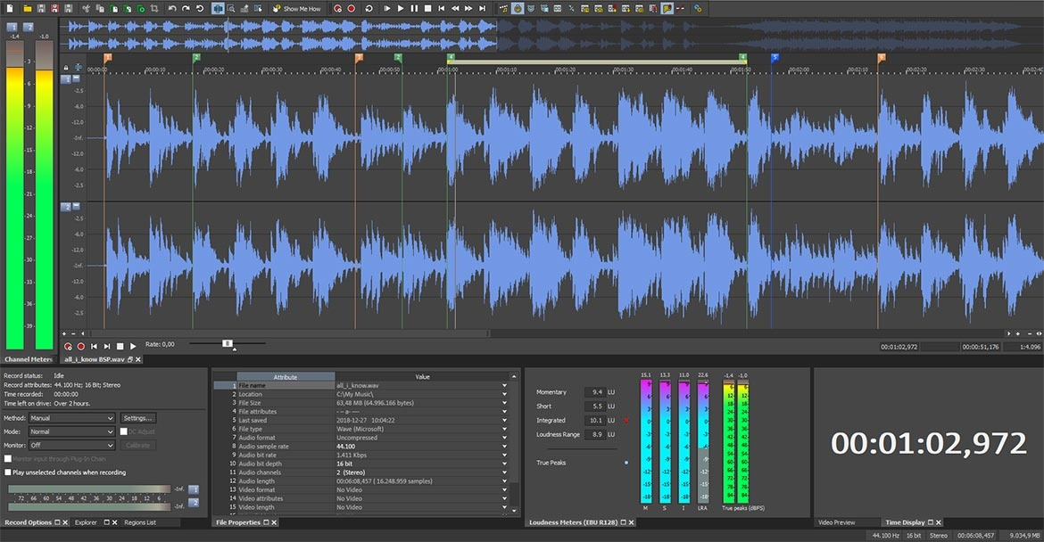 Sony sound forge 8. 0 free download.