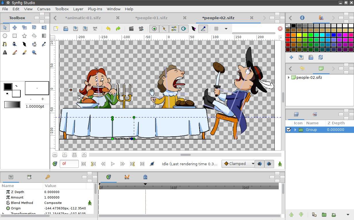 Synfig Studio 1 2 2 / 1 3 11 Beta Free Download - VideoHelp