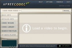 afreeCodecVT screenshot