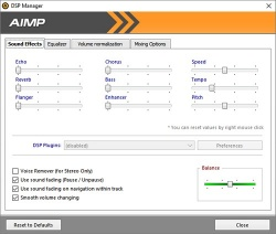 AIMP screenshot 2