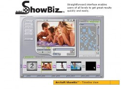 ArcSoft ShowBiz screenshot