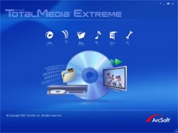 ArcSoft TotalMedia Extreme screenshot