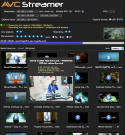 AVCStreamer screenshot