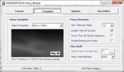 AVStoDVD screenshot 2