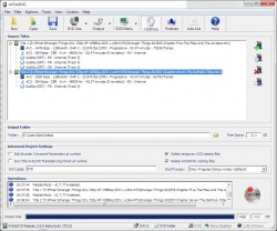 AVStoDVD screenshot
