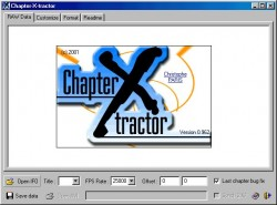 ChapterXtractor screenshot