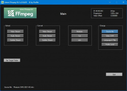 clever FFmpeg-GUI screenshot