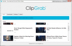 ClipGrab screenshot