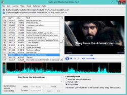 DivXLand Media Subtitler screenshot