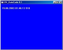 DV_Datecode screenshot